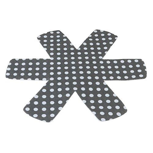 Metaltex 202960 juego de 3 protectores anti-ralladuras 100% polyes