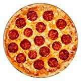 "Jekeno Pizza Blankets Soft Warm Round Throw Blanket for Sofa Chair 60"" Diameter"
