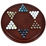 Shalinindia Halma Chinese Checkers Brettspiele Mit Steine Strategiespiele Holz Geschenke zum Geburtstag -