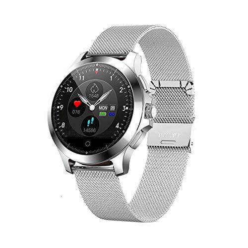 HHRen W8 Smartwatch EKG + PPG Herzfrequenzmesser Fitness Tracker,Weiß