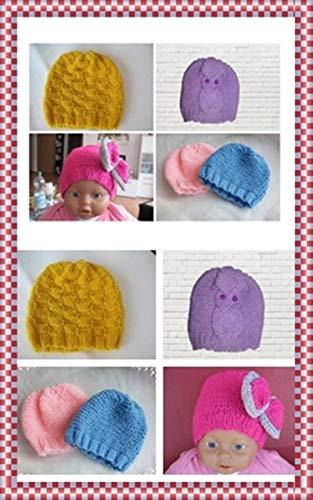Strickanleitung Babymützen 4in1- 4 Anleitungen 1 Preis: Ideal für Anfänger