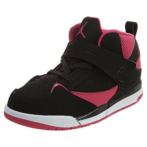 Nike Jordan Flight 45 High G Baskets pour fille Noir Taille M