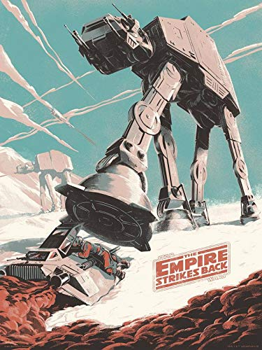 Star Wars Empire Strikes Back – U.S Movie Wall Poster Print – 30cm x 43cm / 12 inches x 17 inches