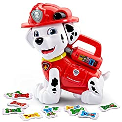 VTech Paw Patrol Treat Time Marshall, electronic toys for kids, electronic gifts, toddler electronics, learning toys for toddlers, childrens electronic toys, musical toys, best electronics for kids, cool toys for kids, electronic educational toys, electronic games for kids, developmental toys, interactive toys, early learning toys, Tech Toys for kids