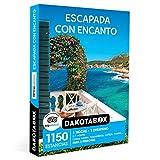 DAKOTABOX - Caja Regalo hombre mujer pareja idea de regalo - Escapada con encanto - 1150 estancias en hoteles, casas rurales, masías, hospederías, cortijos y mucho más