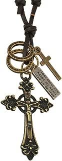 Best bronze cross necklace Reviews