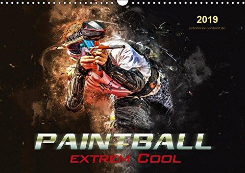 Paintball - extrem cool (Wandkalender 2019 DIN A3 quer): Paintball - Action, Spaß und Spannung in spektakulären Bildern. (Monatskalender, 14 Seiten ) (CALVENDO Sport)