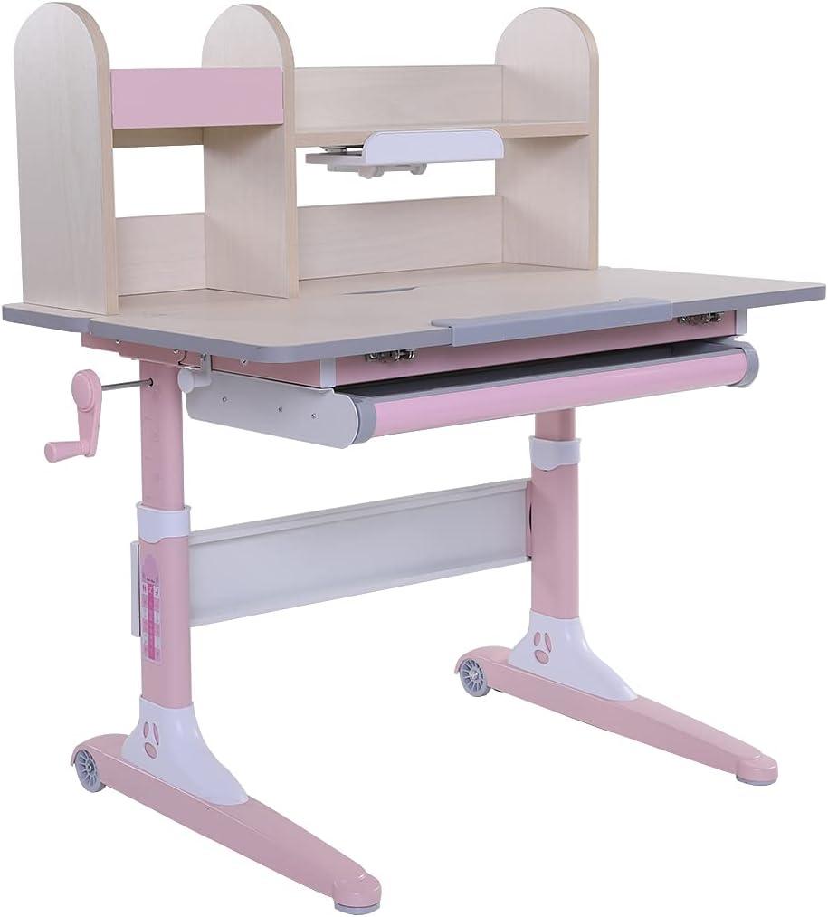 Height 2021 model Adjustable Ergonomic Kids Study Read Desk Sale item Schoolchild for