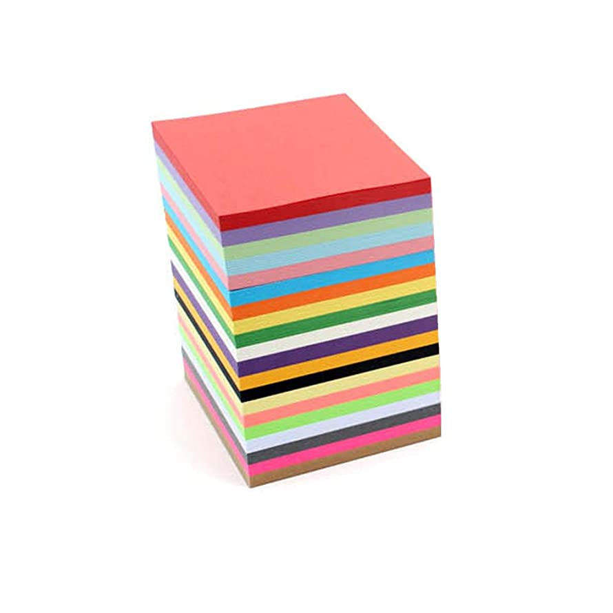 800 Sheets Origami Paper, Paper Crane 8 Colors, 800 Sheets(6.5 by 6.5 cm, or About 2.55 inches by 2.55 inches)