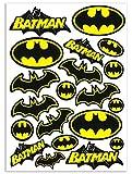 Biomar Labs® Conjunto de 20pcs Pegatina Batman Logo Emblema Vinilo Adhesivo Coches Cascos Motos Ciclomotores Bicicletas Ordenador Portátil D 55