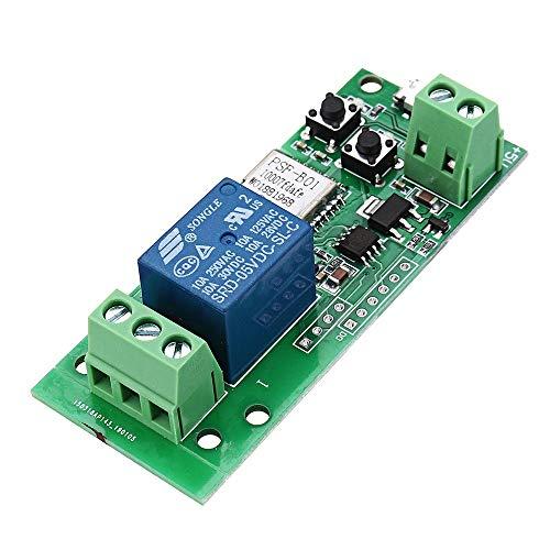 Arduino - Kit de controlador compatible con Alexa & IFTTT Google Home interruptor de control remoto inalámbrico de 5 V WiFi, abridor de puerta de garaje