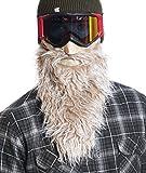 Beardski Yeti Ski Mask, Ivory, One Size