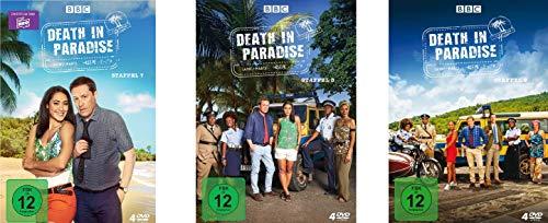 Death in Paradise - Staffel 7-9 im Set - Deutsche Originalware [12 DVDs]