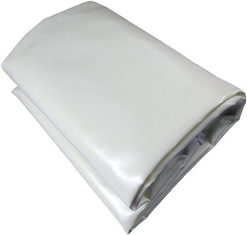 Tarpaulin HUO Feuilles De Bache grises, Résistance Anti-UV Imperméable De Toile Imperméable De PVC pour L'entreposage De Camions (Couleur   gris, Taille   5  10m)