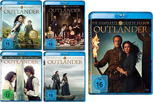 Outlander - Die komplette Season / Staffel 1-5 (1+2+3+4+5) im Set - Deutsche Originalware [25 Blu-rays]
