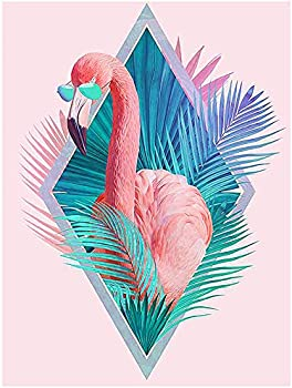 Huacan 5D Diamond Painting Kits for Adults (Flamingo)