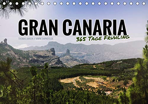 Gran Canaria - 365 Tage Frühling (Tischkalender 2020 DIN A5 quer): Zwölf atemberaubende Inselmomente (Monatskalender, 14 Seiten )