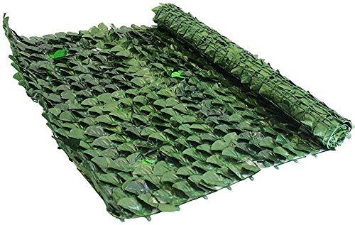 Verdevip Siepe Artificiale 1,5x3 mt (4,5mq) in Rotolo per Balcone - Rete Frangivista Ombreggiante per Arredo Esterni Recinzioni Ringhiere Giardino