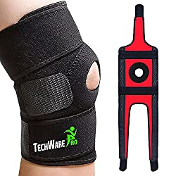 cheap TechWare Pro Knee Brace Support – Relieves ACL, LCL, MCL, Meniscal Rupture, Arthritis, Tendinitis …