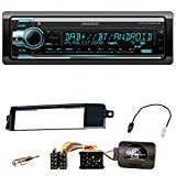 Kenwood KDC-X7200DAB FLAC Autoradio USB AUX 1-DIN AOA WMA MP3 Bluetooth CD DAB+ Einbauset für BMW 3er E46