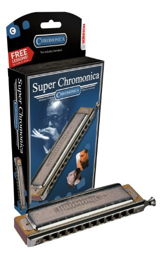 Hohner 270BX-D Super Chromonica, Key Of D Major