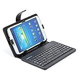 Omega OCT7KBSES - Funda para Tablet con Teclado Micro USB