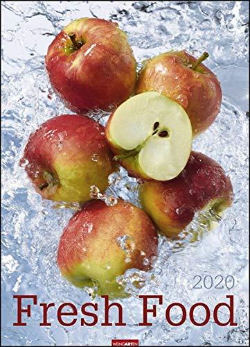 Fresh Food. Wandkalender 2020. Monatskalendarium. Spiralbindung. Format 49 x 68 cm