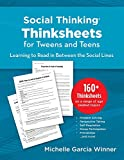 Social Thinking Worksheets for Tweens and Teens Learning to Read in-Between the Social Lines