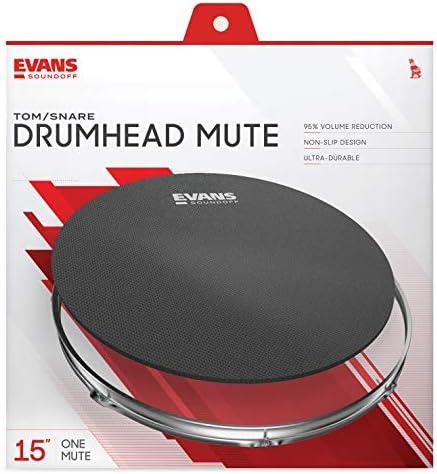 Silenciador para tambor SoundOff de Evans, 15 pulgadas (381 mm).: Amazon.es: Instrumentos musicales