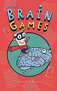 Pocket Brain Games: Children's Pencil & Paper Activity and Puzzle Book