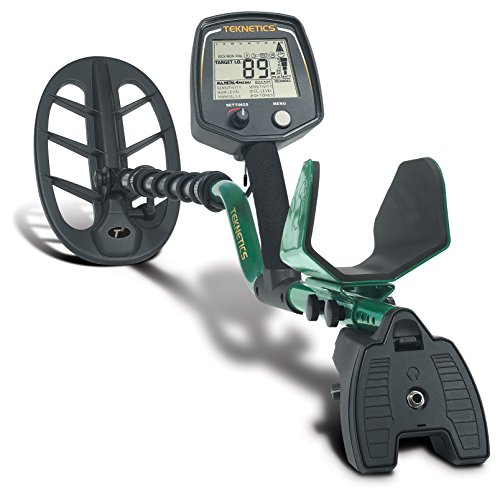 """Teknetics T2 Classic Metal Detector with Waterproof 11"""" Coil and 5 Year Warranty"""