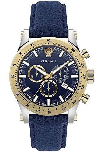 Versace VEV800219 Sporty VEV8002 19 - Reloj de Pulsera con cronógrafo