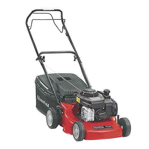 MOUNTFIELD HP185 45CM 125CC HAND-PROPELLED ROTARY PETROL LAWN MOWER. Easy To Use and Easy To Start...