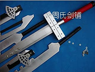 AIT Collectibles S5101 Anime Final Fantasy FF VII 6 Cloud Strife Blade Combined Wood Sword Buster 51.8