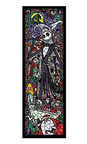 456ピース ジグソーパズル ナイトメアー・ビフォア・クリスマス ぎゅっとシリーズ 【ステンドアート】(18.5x55.5cm)
