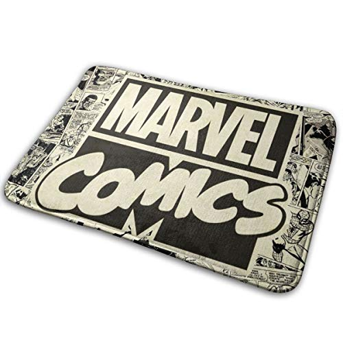 Marvel Comics Pages Pattern (1) Door Mat Entrance Mat Floor Mat Rug Indoor/Outdoor/Front Door/Bathroom Mats Rubber Non Slip 15.7' X 23.5' Inches.