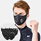 SOKERDY 5Piece Sport Masks with10PCS Filters...