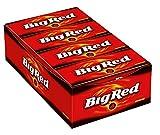 Big Red Kaugummi | Feuerscharfer Zimt-Geschmack | 8 Packungen (8 x 15 Streifen) -