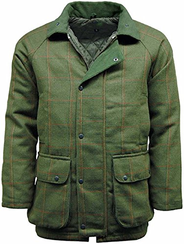 Stormkloth Men's Hereford Tweed Jacket Coat Hunting Shooting Fishing Tweed Jackets Dark Tweed...