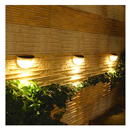 YYYY Solar Deck Light, Outdoor Garden Decoration Wall Light, Waterproof and Easy to Install, Used for Outdoor Decoration of Fence, Terrace, Front Door, Paddock and Driveway Path 1