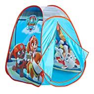 Paw Patrol KidActive Pop Up Playhouse Play Tent Indoor or Outdoor Portable Play - Everest, Chase, Ma...