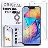 REY Protector de Pantalla para Huawei Honor Play, Cristal Vidrio Templado Premium