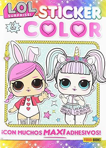 LOL Surprise! Sticker & color