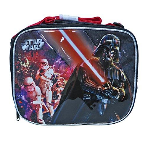 Ruz Star Wars Darth Vader Lunch Bag with Adjustable Shoulder Strap - Not Machine Specific