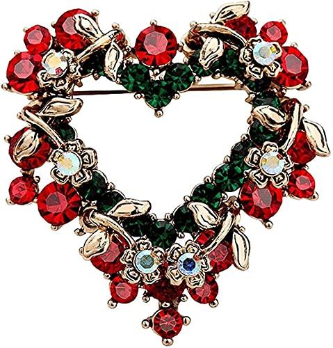 AACXRCR Broche de Navidad Broche Suéter Femenino Pin Pin Cardigan Decoración Accesorios