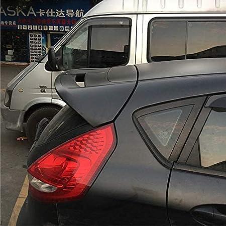 Auto-R/äuber-Fl/ügel Lippe Spoiler Streifen ,Black Color, Yellow YXYNB Fit for Ford Fiesta 2009-2013 Abs Plastik Unpainted Farbe Koffer Fl/ügel Spoilerlippe Auto-Zubeh/ör