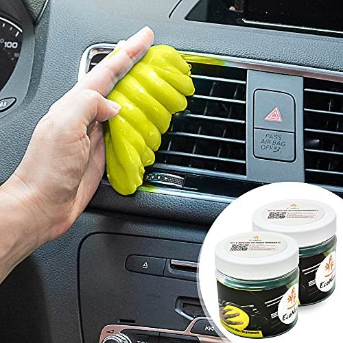 EcoNour Dust Cleaning Gel for Car Dashboards, AC Vents, and Cup Holders  ...