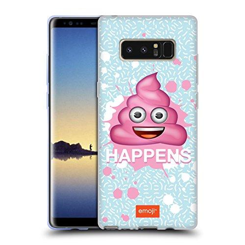 Head Case Designs Oficial Emoji Cosas Que Pasan Pastel SASS Carcasa de Gel de Silicona Compatible con Samsung Galaxy Note8 / Note 8