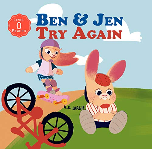 Ben & Jen: Try Again: I can read pre level 1 (i can read kindergarten books) (English Edition)