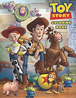 Toy Story Coloring Book: Coloring Book for Kids and Adults - 40 illustrations